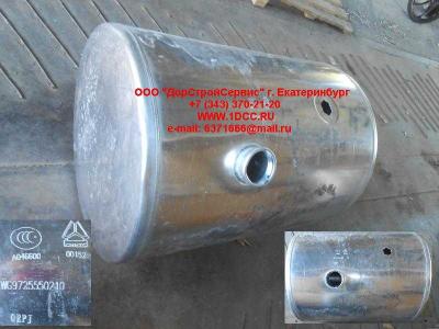 Бак топливный 380литров круглый H2/H3 HOWO (ХОВО) AZ9112550210 фото 1 Нижний Новгород